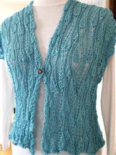 DIY Crochet Women Vests