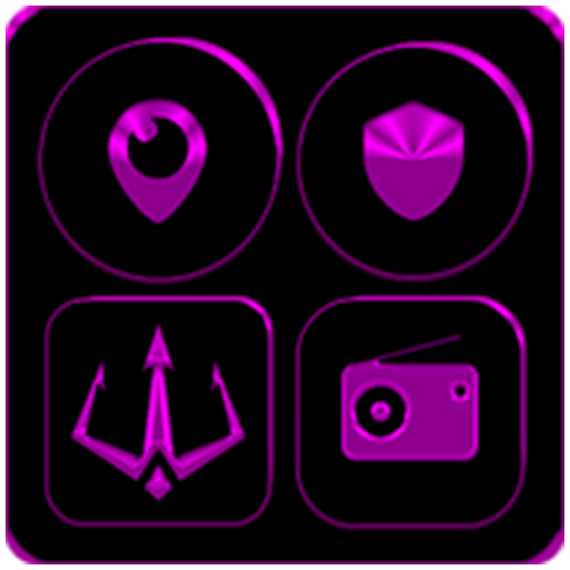 Black And Purple Icon Pack ✨Free✨ Android APK Download Free By Tips And Games Studio