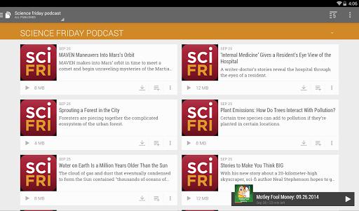 BeyondPod Podcast Manager screenshot 11