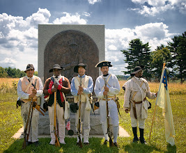 Photo: 1st Rhode Island Regiment at the  BIack Patriots Monument at Valley Forge  Photo: MJTiccinoImages.com