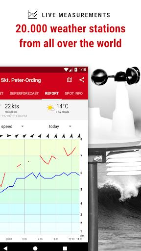 Windfinder Pro - weather & wind forecast screenshot 4