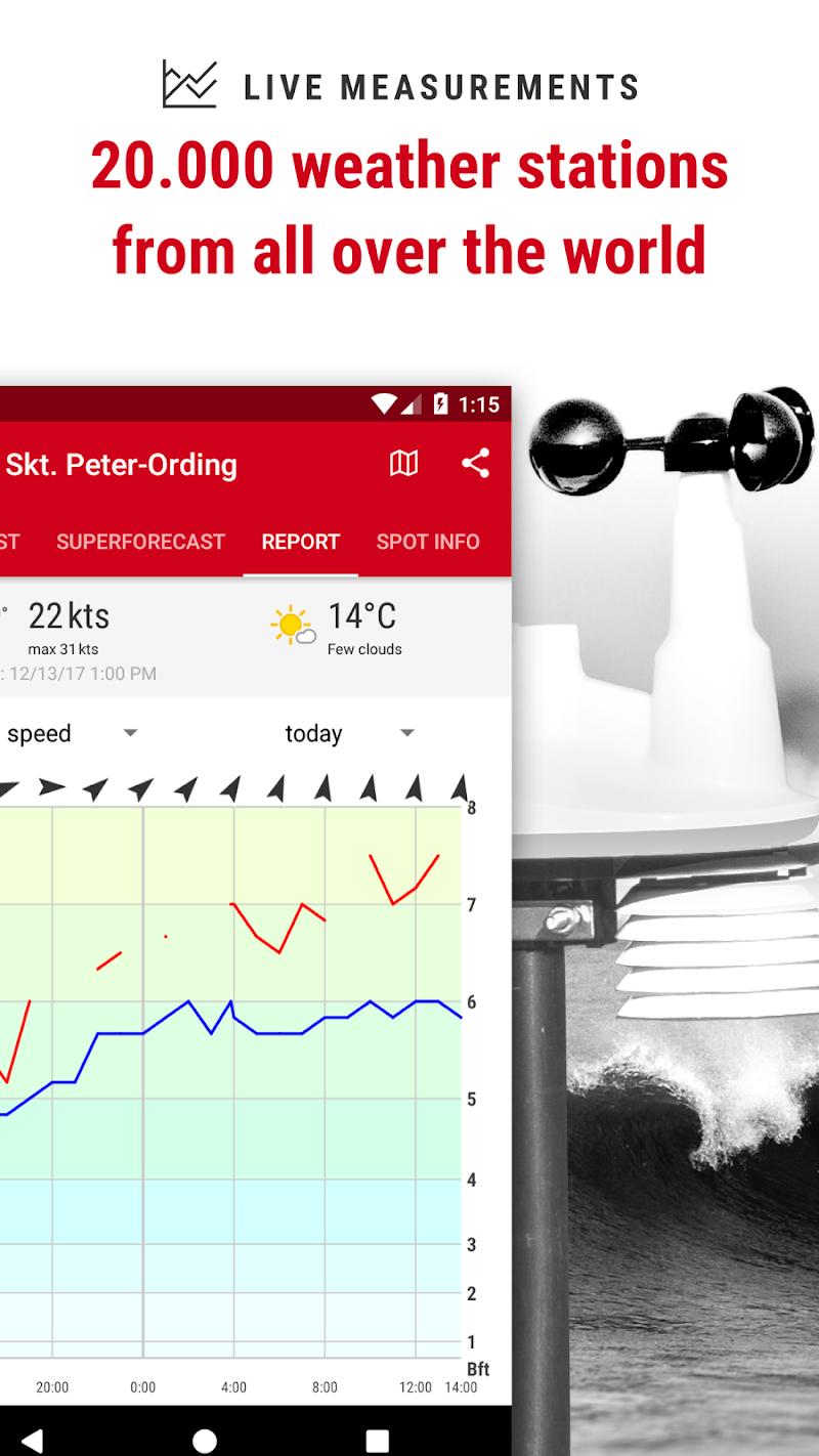 Windfinder Pro - weather & wind forecast Screenshot 3