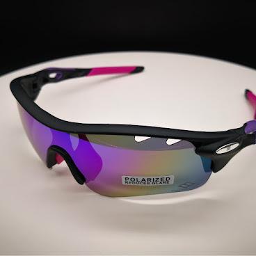 黑紫帥超(現貨發售) 會員HK$399 Shuai Polarized Sunglasses (Black/Purple) 基本套裝