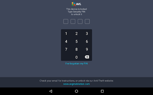 AntiVirus PRO Android Security Screenshot