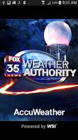 Screenshot of FOX35Weather