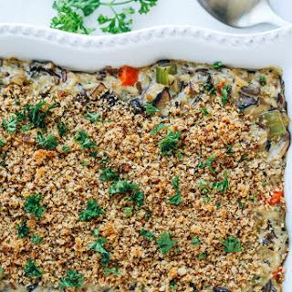 Creamy Wild Rice Mushroom Casserole Recipe