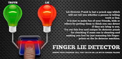 Finger Lie Detector Prank for PC