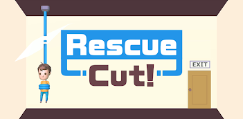 Jouez à Rescue Cut - Rope Puzzle sur PC, le tour est joué, pas à pas!