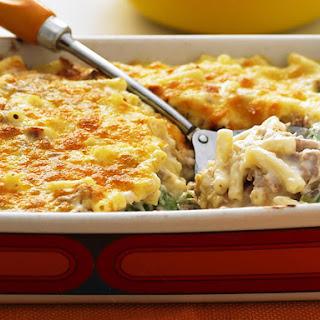 Tuna and Asparagus Macaroni Mornay.