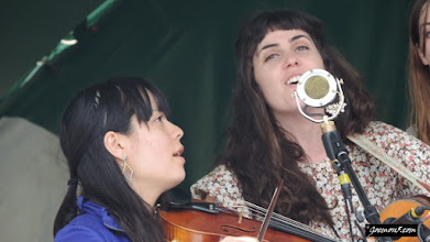 Photo: Sarah Jane Scouten and her trusty violin companion