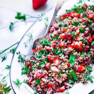 Strawberry Quinoa Tabouli