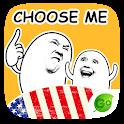 Free Sticker Choose Me