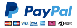 Secure payments handled by PayPal
