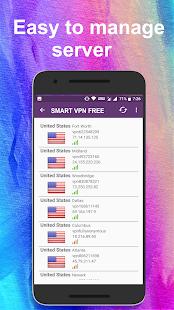 Smart VPN – Unlimited Free VPN - náhled