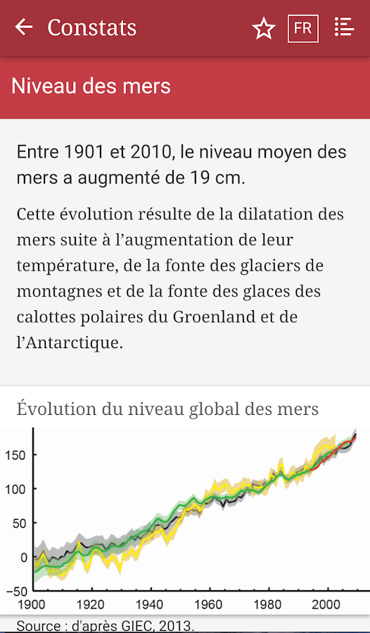 StatClimat- screenshot