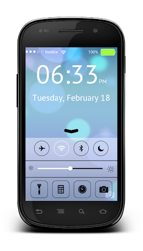 OS9 Keypad Lock Screen