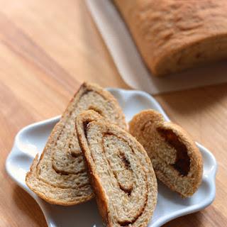 Sticky Cinnamon Swirl Bread.