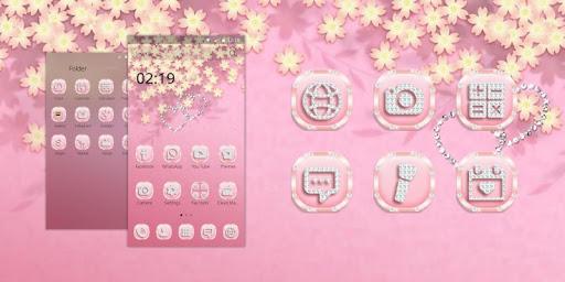 無料娱乐Appのローズゴールドダイヤモンドのテーマ|HotApp4Game