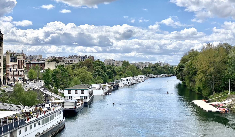 Péniche Neuilly-sur-Seine