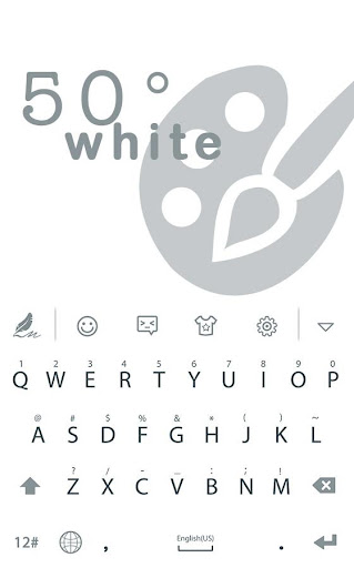 50°White for HiTap Keyboard