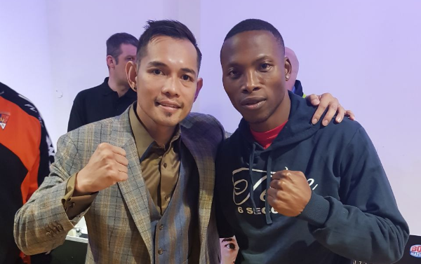 "WBO bantamweight champion Zolani ""Last Born"" Tete (R) could square up to his friend Nonito ""Filipino Flash"" Donaire at the World Boxing Super Series."