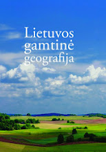 """Photo: """"Lietuvos gamtinė geografija"""". Sudarytojas: Marija Eidukevičienė. Leidėjas: Klaipėdos universiteto leidykla"""