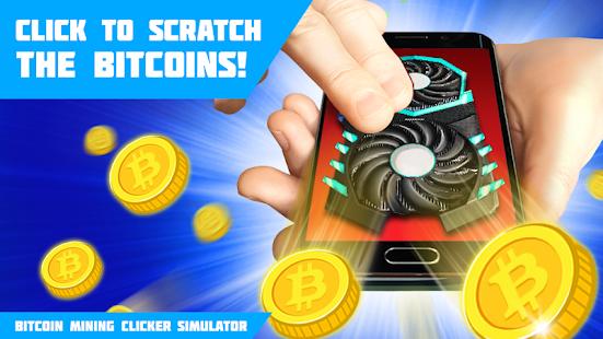 Bitcoin Mining Clicker Simulator - náhled