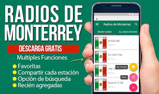 Radios de Monterrey Emisoras de Monterrey 1