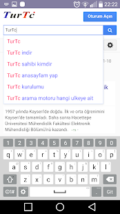 App Türkiye Milli Arama Motoru APK for Windows Phone