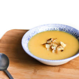 Butternut Squash and Parsnip Soup.