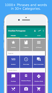 Learn brazilian portuguese apps on google play screenshot image m4hsunfo Gallery
