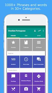 Learn brazilian portuguese apps on google play screenshot image m4hsunfo