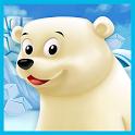 Polar Bear Cub - Fairy Tale with Games Free icon