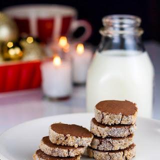 Sugar-Crusted Chocolate Shortbread Cookies Recipe