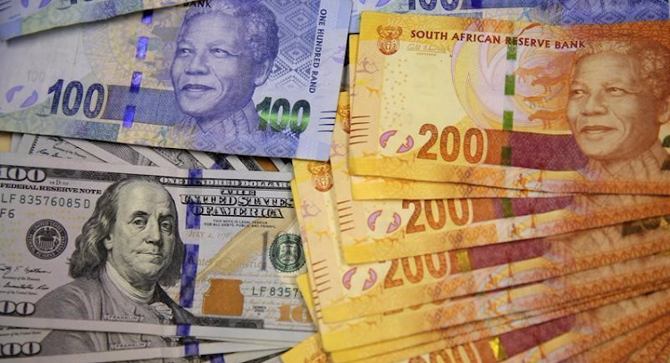 The dollar and the rand. Picture: REUTERS, SIPHIWE SIBEKO