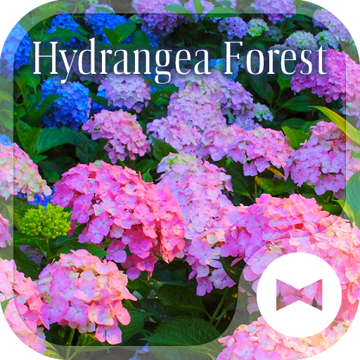 Beautiful Wallpaper Hydrangea Forest Theme Icon
