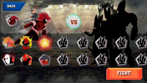 Code Triche Devil Fighter Dragon X APK MOD screenshots 3