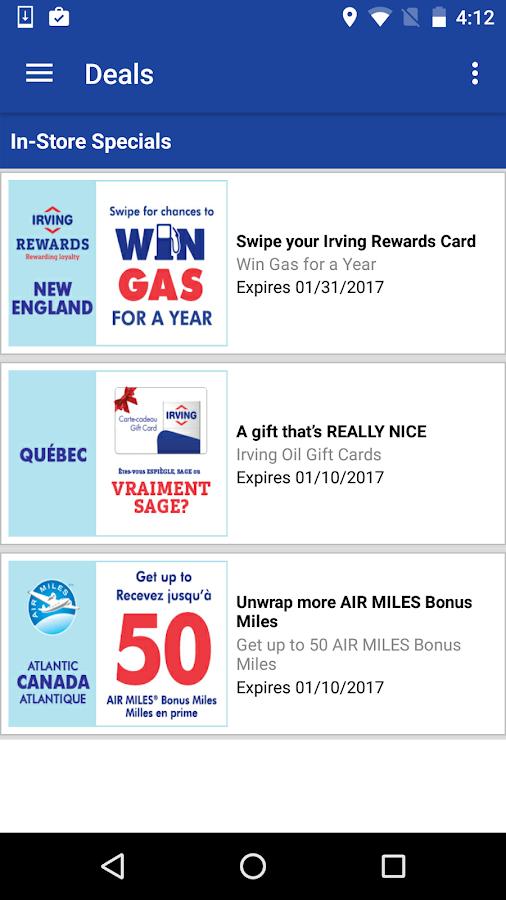 irving gas gift card balance ziesite co - Irving Rewards Card