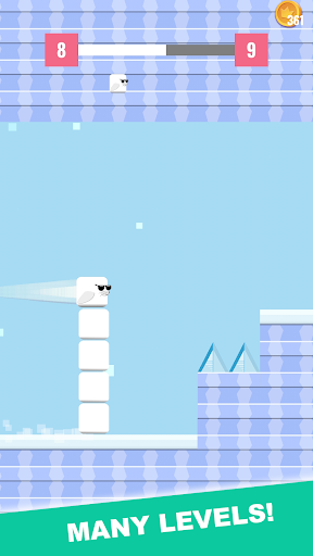 La Foka Go: Square Bird Seal! 1.2 screenshots 1