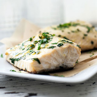 Easiest Baked Halibut.