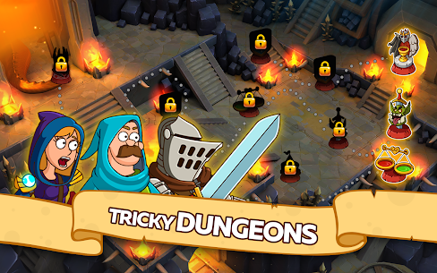 Hustle Castle: Fantasy Kingdom 1.28.1 Apk + Mod (High Damage) Android 4
