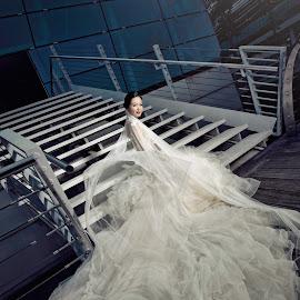 Bridal by Greg Neo - Wedding Bride ( fashion, wedding photography, editorial, style, wedding, outdoor, mbs, photographer, photoshoot, women, portrait, singapore, photography )