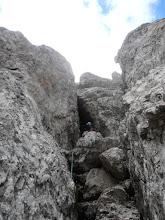 Photo: Izhod se skriva malo višje, se ga iz štanta ne vidi
