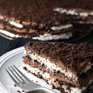 Chocolate and Nutella Cream Icebox Cake.