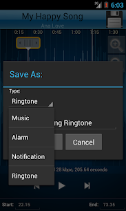 MP3 Cutter and Ringtone Maker♫ Apk 4