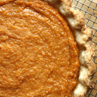 Salted Honey Sweet Potato Pie