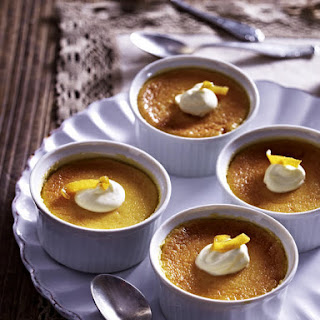 Lemon Custard Pots