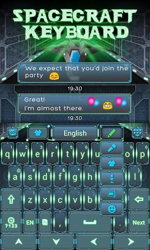 宇宙船キーボード|玩個人化App免費|玩APPs