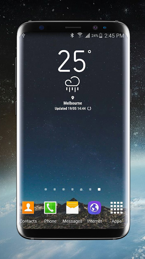Weather Widget Galaxy S8 Plus  Android Apps on Google Play