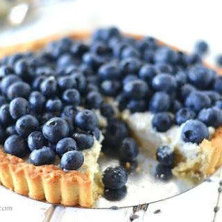 Blueberry Lavender Tart with Unshrinkable Sweet Tart Shell.